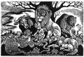 Peaceable Kingdom -- Fritz Eichenberg